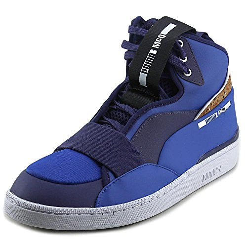 Alexander McQueen By Puma MCQ Brace Mid Synthétique Baskets Surf the Web-Astral Aura-Wht