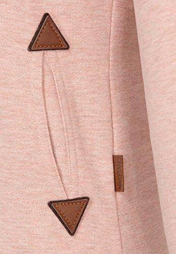 Naketano Female Sweatshirt Reorder VIII Pastel Pink Melange