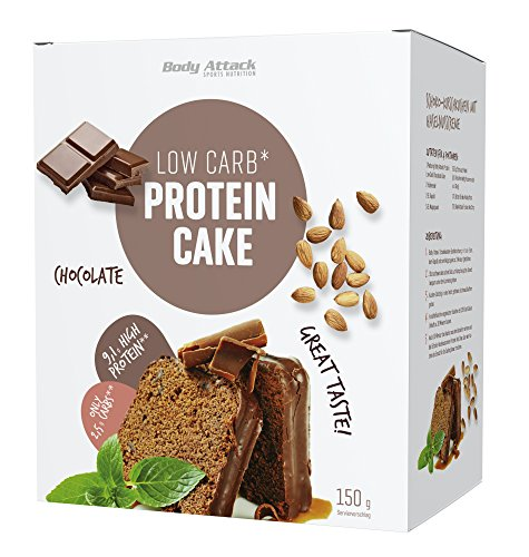 Body Attack Sports Nutrition Protein Low Carb Cake - 150g Chocolate (2)