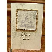 Recordatorios de Comunión Josué hechos a mano con óvalo para poner tu foto en el interior …