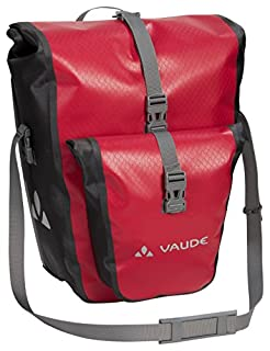 VAUDE Aqua Back Plus Rear Pannier Bike Bag PLUS - Set of 2 - PVC-Free Tarpaulin Bike Panniers - Waterproof Pannier Bags with Front Pocket and 51 Litre Total Storage Volume (B01M09UQ43)   Amazon Products