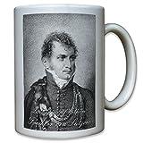 Ludwig Adolf Wilhelm von Lützow preußischer Generalmajor Preußen - Tasse #10700