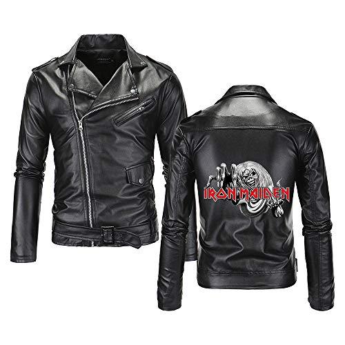 MNmkjgfgj Iron Maiden Pullover Abrigos Chaqueta Invierno Camiseta Adulta Deportes Tendencia Ocasional de Las Mujeres y los Hombres del otoño y del Invierno de la Manera Salvaje cómodo Unisex