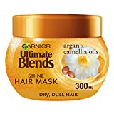 Garnier Ultimate Blends Argan Oil Shiny Hair Mask Treatment 300 ml
