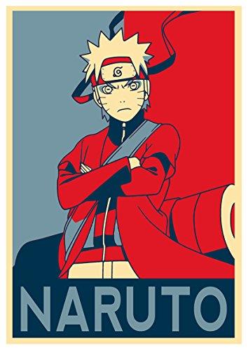 "Poster Naruto ""Propaganda"" Naruto - A3 (42x30 cm)"