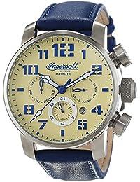 Ingersoll Herren-Armbanduhr Colby Chronograph Automatik Leder IN1224SCR