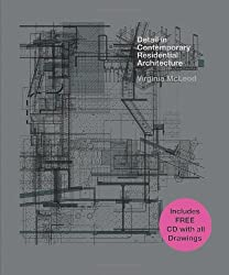Detail in Contemporary Residential Architecture: Includes CD-ROM by Virginia McLeod (2007-05-10)