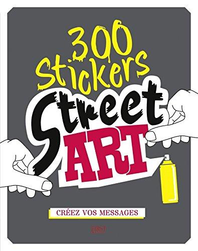 300 stickers street art par Charlotte LEGRIS
