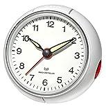 TFA Funk Wecker 60.1514.02 Silber Alarmzeiten 1 Fluoreszierend Zeiger
