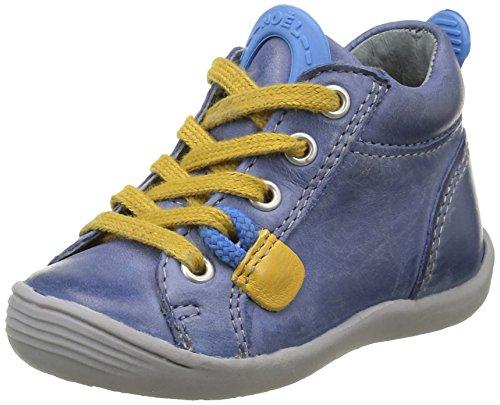 Noël Mini Kd, Chaussures Premiers Pas Bébé Garçon, Bleu (1 Bleu), 19 EU