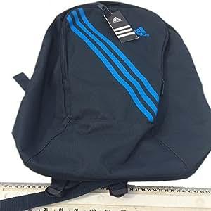 ADIDAS 3 STRIPE INSPIRED BAG PACK NAVY BLACK AND BLUE (backpack school bag ruck sack rucksack)