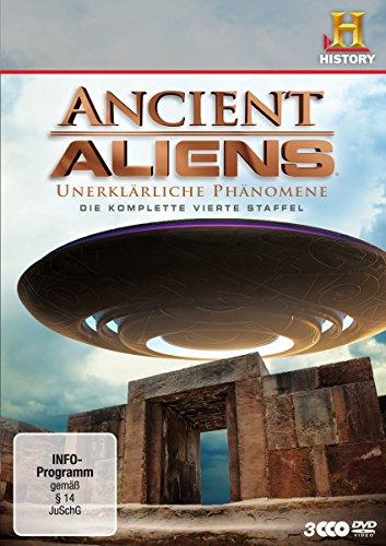 Preisvergleich Produktbild Ancient Aliens - Unerklärliche Phänomene, Staffel 4 [3 DVDs]