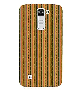 Fuson Designer Back Case Cover for LG K7 :: LG K7 Dual SIM :: LG K7 X210 X210DS MS330 :: LG Tribute 5 LS675 ( Ethnic Pattern Patterns Floral Decorative Abstact Love Lovely Beauty )