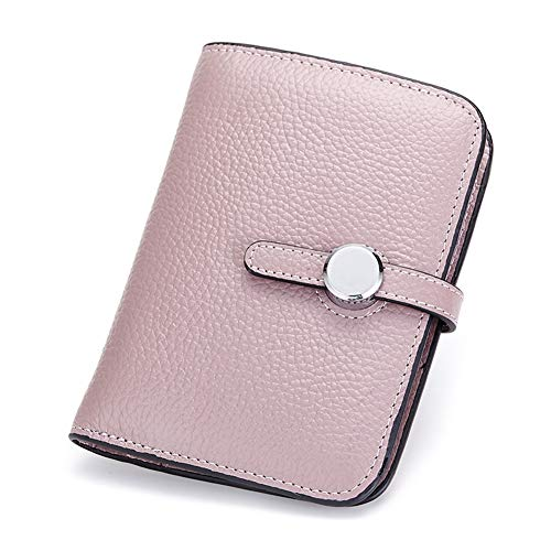Damen 'S Fashion Leather Vertical Wallet europäischen und amerikanischen minimalistischen Stil Herren' S Wallet kurzen Absatz, duftenden lila