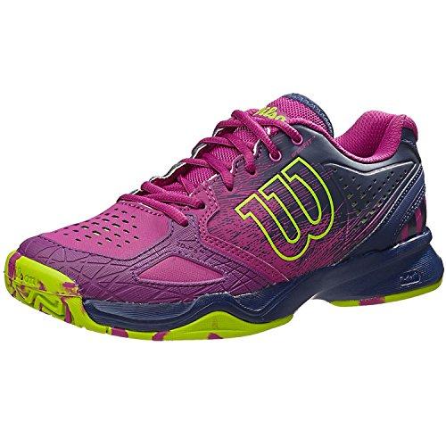 wilsonkaos-comp-w-scarpe-da-tennis-donna-multicolore-azalee-pink-navy-wil-granny-green-eu-39u-2154-u