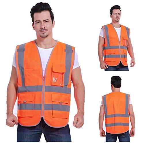 multi-fuction-high-visibility-reflective-vest-fluorescent-safety-jacket-vest-with-zipper-reflective-