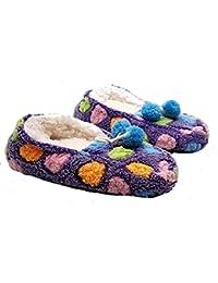 PICCOLI MONELLI Pantofole Peluche Bambina Invernali ccalde Invernali Chiuse  Dietro Basse tg 32-35 cm 3ee44fc1b13