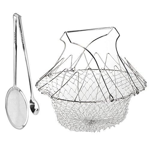 chef-cestino-kitchen-craft-friggitrice-e-in-acciaio-inossidabile-pieghevole-vapore-sciacquare-strain