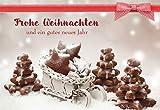 Butzon & Bercker Glückwunschkarte mit Rezept 'Frohe Weihnachten und EIN gutes neues Jahr' (6 STK)