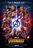Tainsi Infinity War Poster Comic Characters Poster, Multi-Colour, 91.5 x 61 cm