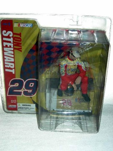 Mcfarlane Tony Stewart Esgr National Guard Hobby Nascar #29 Series 5 6 Figure by Unknown (5 Guard National)