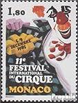 Gebiet: Monaco, Ausgabeanlass: 1985 Zirkusfestival, Titel: 1717 (kompl.Ausg.), Jahrgang: 1985,
