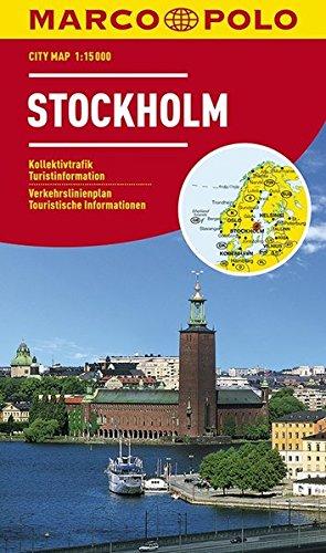 MARCO POLO Cityplan Stockholm 1:15 000 (MARCO POLO Citypläne): Alle Infos bei Amazon