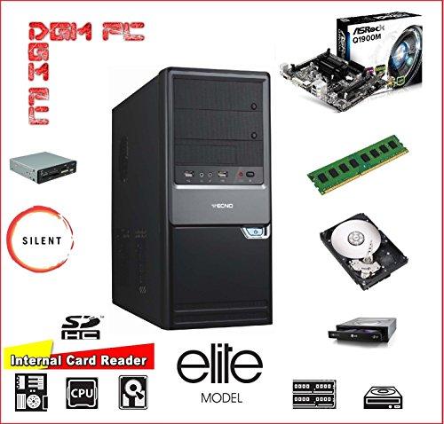 PC DESKTOP ASSEMBLATO COMPLETO COMPUTER FISSO / ALIMENTATORE 500W / INTEL QUAD CORE 2GHZ / RAM 8GB DDR3 / SSD 240GB / DVD-RW / HDMI / USB 3.0 / GT 730 2GB / INSTALLAZIONE SISTEMA OPERATIVO WINDOWS