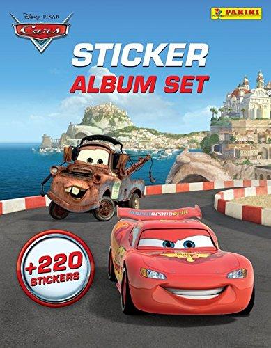Disney Cars: Sticker-Album-Set