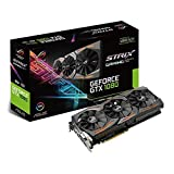 Asus ROG STRIX-GTX1080-8G-GAMING Carte graphique Nvidia GeForce GTX 1080, 1771 MHz, 8GB GDDR5X 256 bit, DirectCU III
