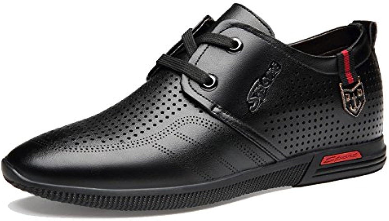Zapatos Casuales De Verano Transpirables para Hombres Calados Casual De Negocios