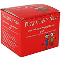 PIRATOPLAST Natur Augenpflaster groß 57x72 50 St preisvergleich bei billige-tabletten.eu