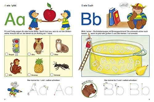 Fragenbär Vorschule: Buchstabenspiele und erstes Schreiben (Lerne mehr mit Fragenbär) - 3