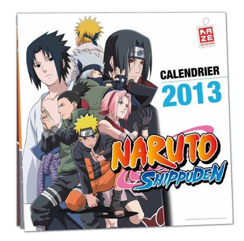 Calendrier 2013 Naruto Shippuden