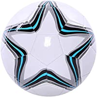 BESPORTBLE Balón de Fútbol para Niños Tamaño Profesional 5 Balón de Fútbol Patrón de Estrella Práctica de Entrenamiento Balón de Fútbol Fútbol para Niños Estudiantes Adolescentes