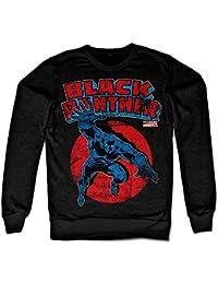 Marvels Black Panther Sweatshirt (Black)