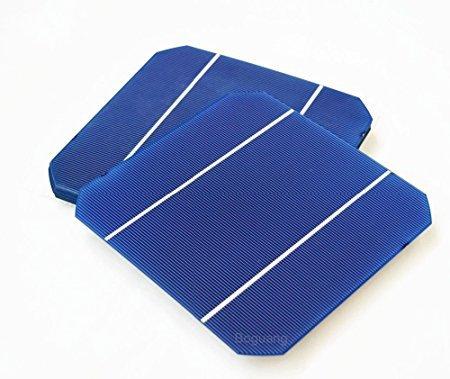 xinpuguang 25pcs 156x 156mm eficiencia fotovoltaico monocristalino Silicio Solar cell panel solar de 6x 6precios baratos grado un plástico para DIY