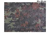 Mark Treese Tarnnetz 20 x 30 cm für Modellbau Diorama oder als RC Panzer Zubehör (German Camouflage)