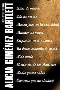 Serie Petra Delicado par  Alicia Giménez Bartlett