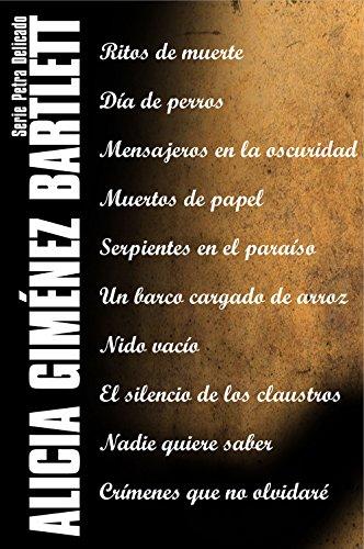 Serie Petra Delicado (Pack) (Edición de 2017) por Alicia Giménez Bartlett