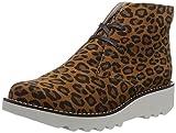 Muskelaufbaumittel - Sanita Kristina Boot, Damen Desert Boots, Beige (nature leopard / 14), 41 EU