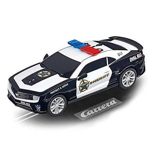 Carrera Go!!! Chevrolet Camaro ZL1 Sheriff 20064031 Rennbahnauto