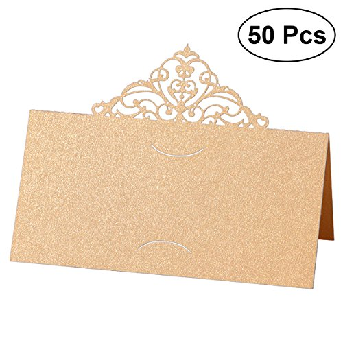 e Card Holders - Das Geschäft mit Hollow Flower Wedding Place Card Table Party/Bankett/Veranstaltungen - Gold ()