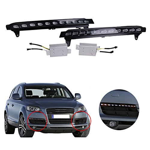 daytime-running-lights-white-led-drl-fog-yellow-turn-signal-for-audi-q7-2007-2009