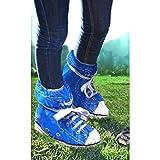 Mags Schuhüberzieher Festival Feet blau