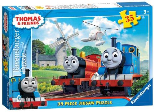 Ravensburger Thomas und Seine Freunde 35 pc Puzzle Windmühle Design. - Sein Design
