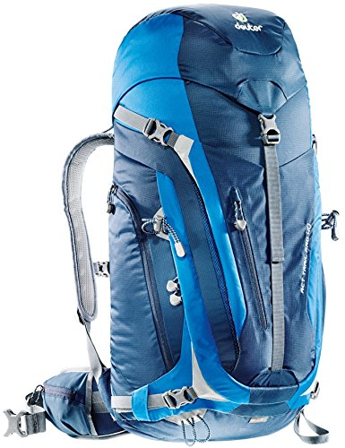 Imagen de deuter act trail pro  para montaña, unisex adulto, azul midnight / ocean , 40 l