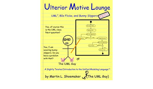 Ulterior Motive Lounge: UML, 80s Flicks, and Bunny Slippers