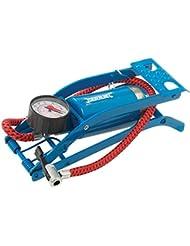 Silverline Pompe à pied Bleu/Rouge