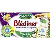 Blédina - Blediner Meli melo de courgettes et aubergines riz -des 12 mois - Les 2 bols de 200g - (pour la quantité...